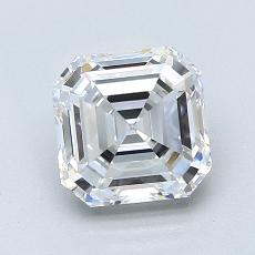 Recommended Stone #1: 1.61-Carat Asscher Cut Diamond