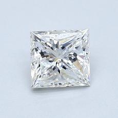 0,91-Carat Princess Diamond Very Good F VVS1