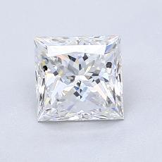 Pierre recommandée n°2: Diamant Taille princesse de 1,20carat