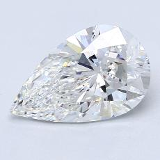 Recommended Stone #3: 2,01-Carat Pear Cut Diamond