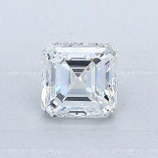 Pierre recommandée n°4: Diamant Taille Asscher de 0,77carat