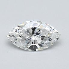 Recommended Stone #4: 0,71-Carat Marquise Cut Diamond