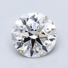 推薦鑽石 #1: 1.43  克拉圓形切割
