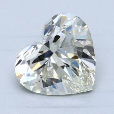 1,51-Carat Heart Diamond Very Good K VS1