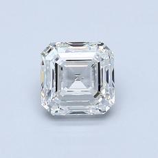 Target Stone: 0.90-Carat Asscher Cut Diamond