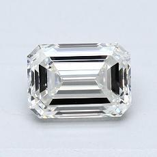 Recommended Stone #2: 1.00-Carat Emerald Cut Diamond