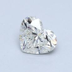 Recommended Stone #1: 0,73-Carat Heart Cut Diamond