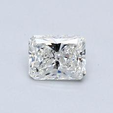 Recommended Stone #4: 0.50-Carat Radiant Cut Diamond