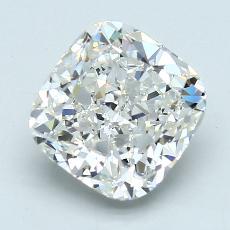 推荐宝石 2:3.93 克拉垫形钻石