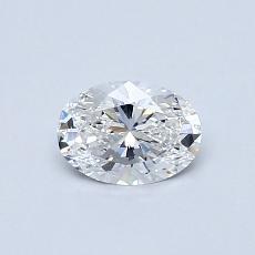 推薦鑽石 #3: 0.50 克拉橢圓形切割鑽石