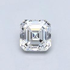 0.65-Carat Asscher Diamond Very Good E VS1