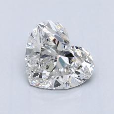 1,04-Carat Heart Diamond Very Good G SI2