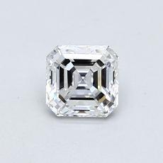 Piedra objetivo: Diamante de talla Asscher de 0.58 quilates