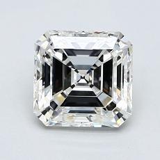 Recommended Stone #1: 1,30-Carat Asscher Cut Diamond