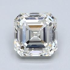 1.51-Carat Asscher Diamond Very Good H IF