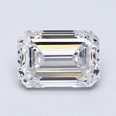 Recommended Stone #4: 1,40-Carat Emerald Cut Diamond
