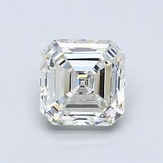 Pierre recommandée n°3: Diamant taille Asscher 1,01 carat