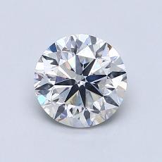 1.00 Carat 圓形 Diamond 良好 F SI2