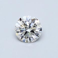 0.52-Carat Round Diamond Ideal G VS2