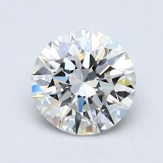 1.00-Carat Round Diamond Ideal G VVS1