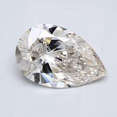 Recommended Stone #3: 1.25-Carat Pear Cut Diamond