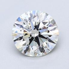 1.50-Carat Round Diamond Ideal H VS1