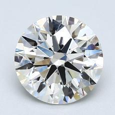 Target Stone: 3.00-Carat Round Cut Diamond