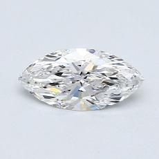 推薦鑽石 #4: 0.71  克拉欖尖形切割鑽石