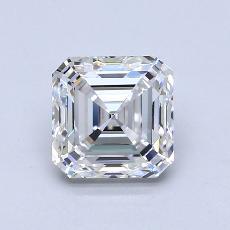 Recommended Stone #2: 2.01-Carat Asscher Cut Diamond