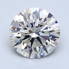 Recommended Stone #1: 2.02-Carat Round Cut Diamond