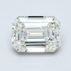 1.21-Carat Emerald Diamond Very Good J VVS2
