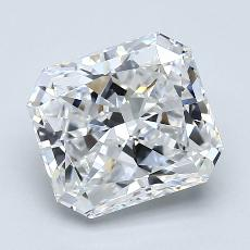 Recommended Stone #2: 2.16-Carat Radiant Cut