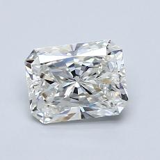 1.01-Carat Radiant Diamond Very Good H VS2