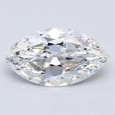 推荐宝石 3:1.55 克拉马眼形切割
