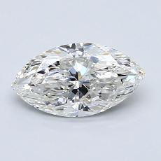 1.00-Carat Marquise Diamond Very Good G SI1