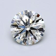 1.11 Carat 圆形 Diamond 理想 K VVS1