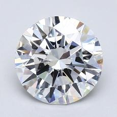 1.51 Carat 圓形 Diamond 理想 D FL