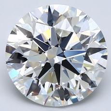 Pierre recommandée n°1: Diamant taille ronde 4,07 carat