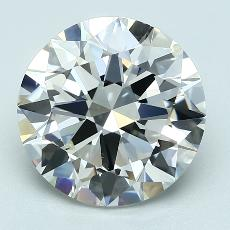 Recommended Stone #4: 4.01-Carat Round Cut