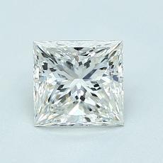 1,01-Carat Princess Diamond Very Good G VS1