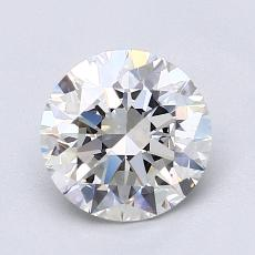 1.50-Carat Round Diamond Ideal I VS1