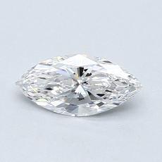 推薦鑽石 #2: 0.42  克拉欖尖形切割鑽石