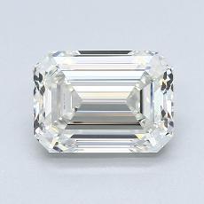 Pierre recommandée n°2: Diamant taille émeraude 2,02 carat