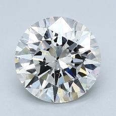 Recommended Stone #1: 2,70-Carat Round Cut