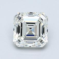 Recommended Stone #2: 1.20-Carat Asscher Cut Diamond