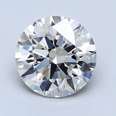 1.59-Carat Round Diamond Ideal I VVS1