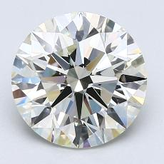 Recommended Stone #3: 3.08-Carat Round Cut