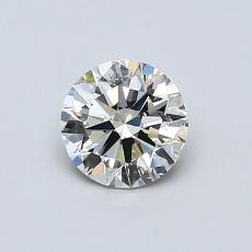 Recommended Stone #1: 0.60-Carat Round Cut