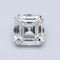 推薦鑽石 #2: 1.05 Carat Asscher Cut
