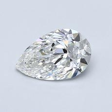 0.70-Carat Pear Diamond Very Good G IF